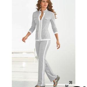 NWOT Boston Proper Chic Zippered Sports Wear Set